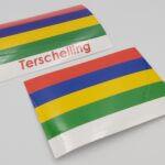 Terschellinger vlag autosticker