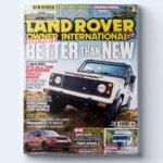 :Land rover owner international magazine