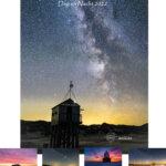 Dag en nacht kalender 2022 Dark Sky